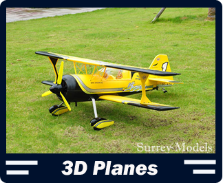 Large High Scale Electric RC 3D Planes
