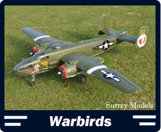 Large High Scale RC Warbirds