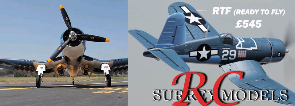 Electric RC Warbirds, F4U Corsair 1.6M
