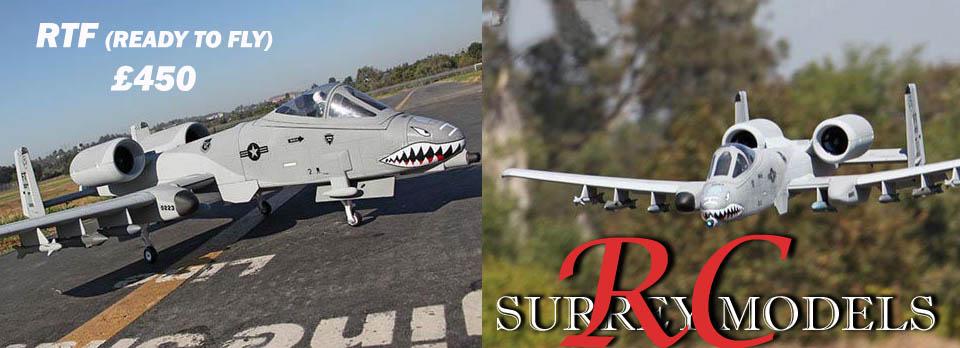 Radio Control RC Jets, A10 Warthog