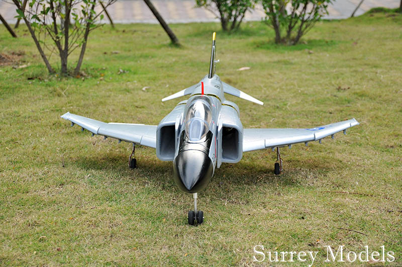 Radio Controlled Twin EDF MILITARY Jet