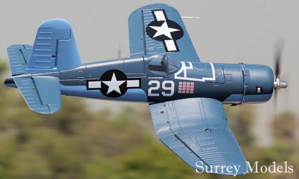 Radio Controlled LX F4U Corsair 1.2M Plane