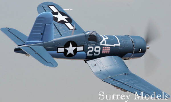 RC High Scale Electric Warbird Fighter Plane