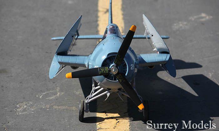 RC F4F Wildcat Folding Wing