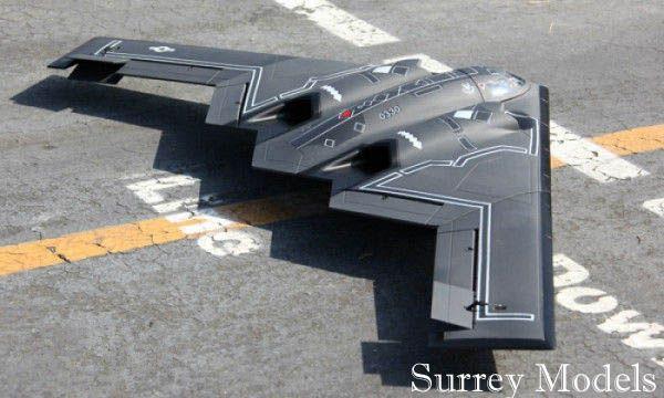 Remote Control Stealth Bomber Jet