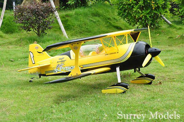 Radio Controlled Electric  Aerobatic Biplane