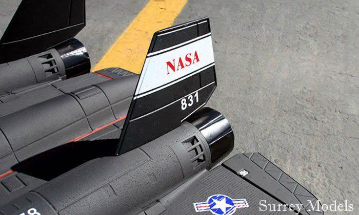 RC LX SR71 Black Bird Jet
