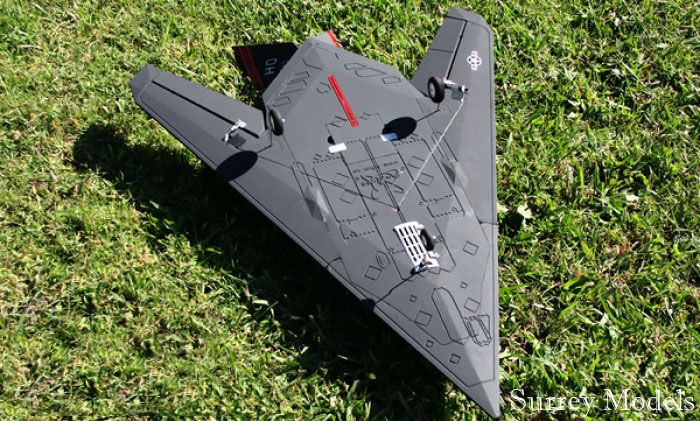 RC LX F117 Nighthawk 64mm Jet