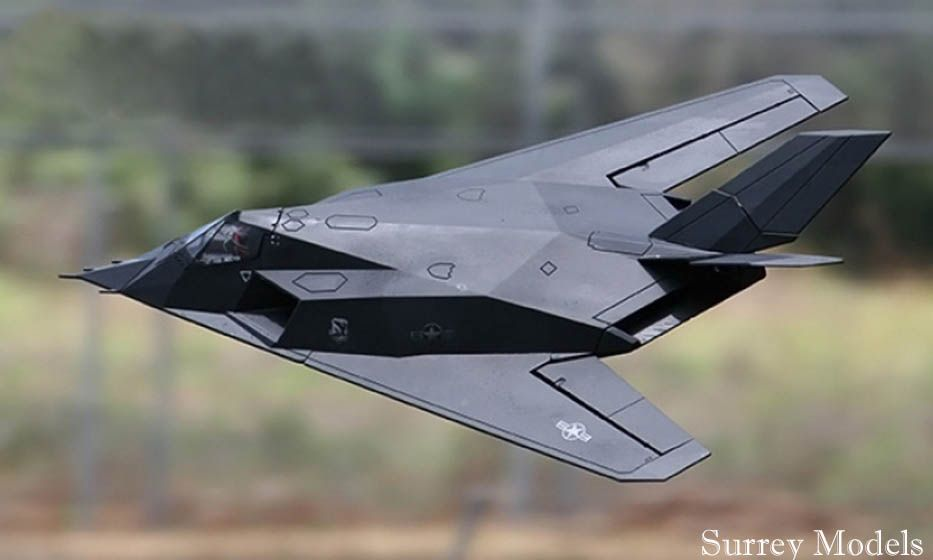 F117 Nighthawk 70mm Surrey Models