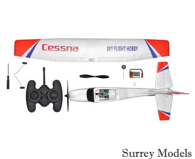 Radio Controlled Electric Mini Cessna Plane