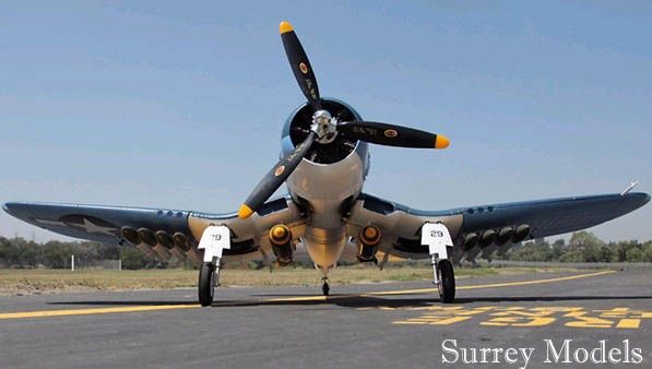 RC Folding Wing F4U Corsair Plane