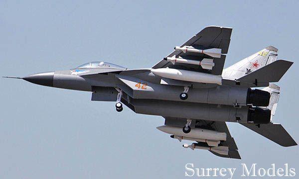 Remote Control Surrey Models Mig 29 Fulcrum Jet Plane
