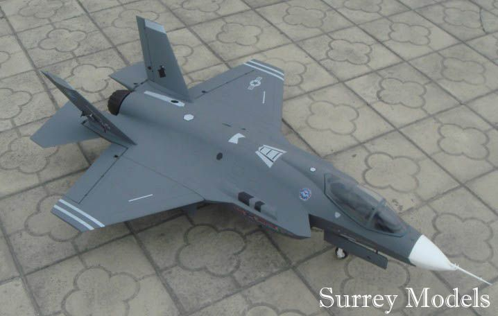Radio Controlled Electric Scale EDF Fighter Jet