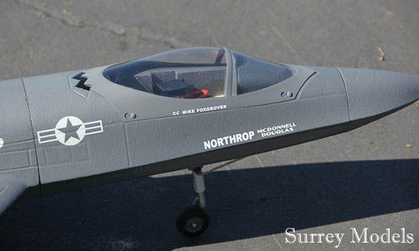 Radio Controlled LX YF23 Grey Ghost Jet
