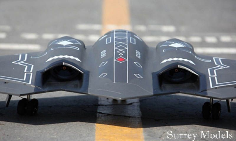 Radio Controlled Stealth Bomber Jet