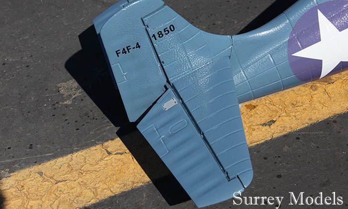 RC Electric F4F Wildcat 1.2M Plane
