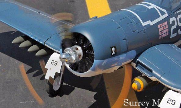 RC LX F4U Corsair 1.6M Warbird