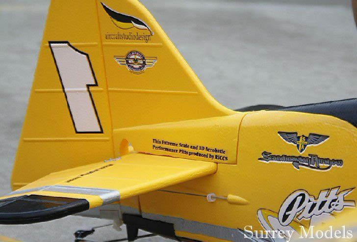 Remote Control Aerobatic Plane