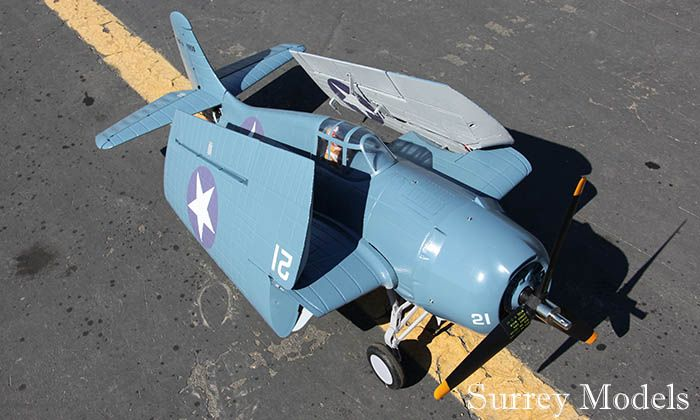 Remote Control Electric Warbird