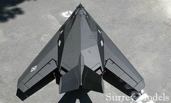 Remote Control LX F117 Nighthawk 70mm Jet
