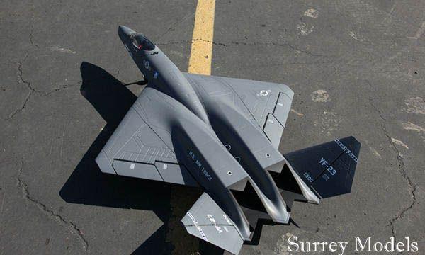 YF23 Grey Ghost - Surrey Models