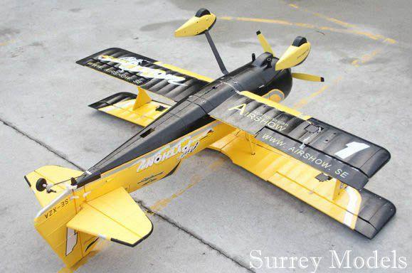 RC Surrey Models Pitts Python V2 3D Plane