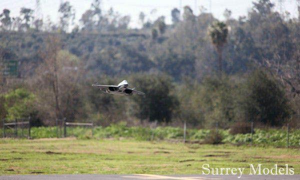 RC LX YF23 Grey Ghost Jet