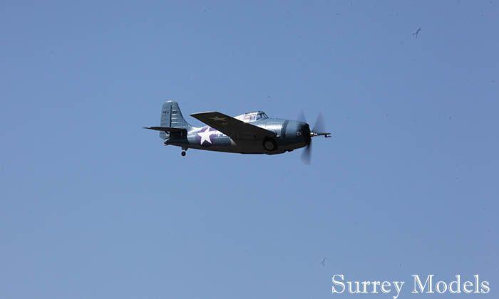RC LX F4F Wildcat 1.2M Plane