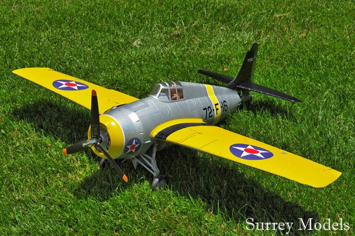 RC Electric Large Scale Warbird