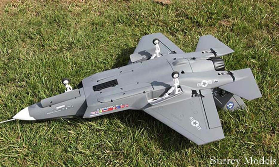 Remote Control Military Jets