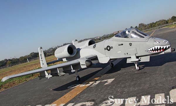 RC Twin EDF A10 Warthog Jet