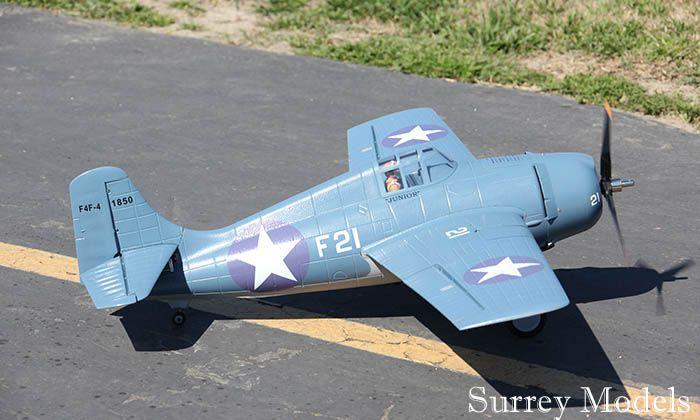Electric F4F Wildcat Plane