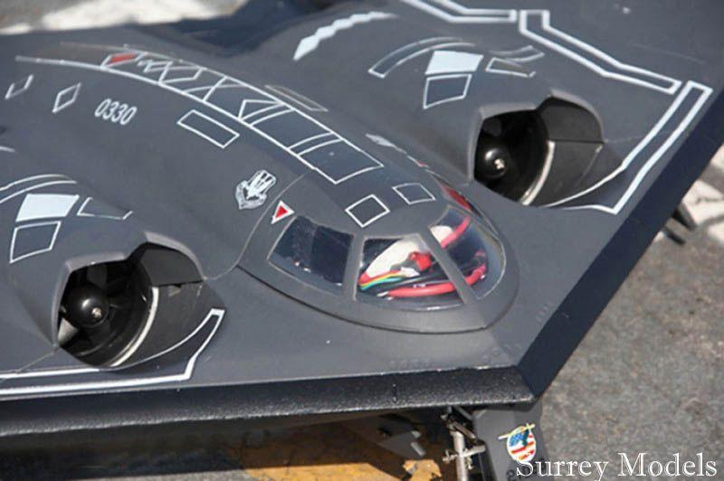 Remote Control Stealth Bomber Jet Plane