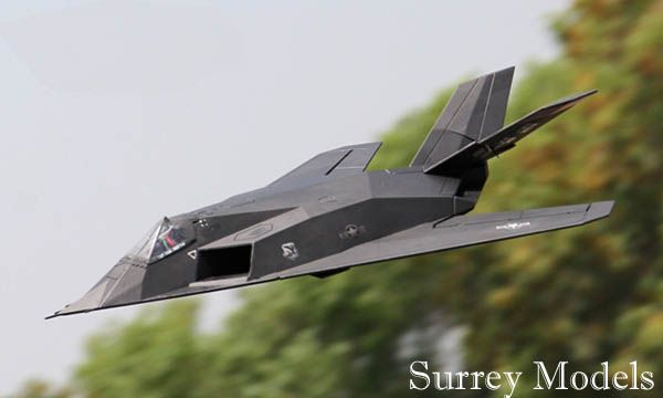 Radio Controlled Stealth Bomber Jet Plane
