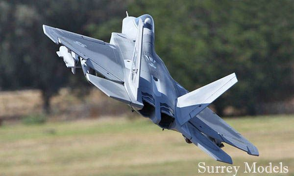 F22 Raptor Twin Edf 70mm Surrey Models