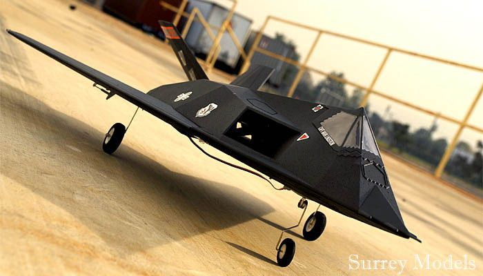 Remote Control EDF Fighter Stealth Jet