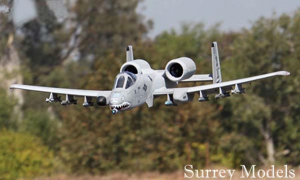 RC Surrey Models A10 Warthog Jet plane