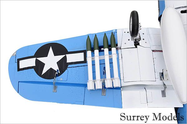 RC Electric Foam Warbird Plane
