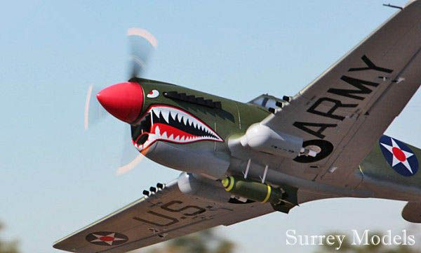 Radio Controlled High Scale Warbird