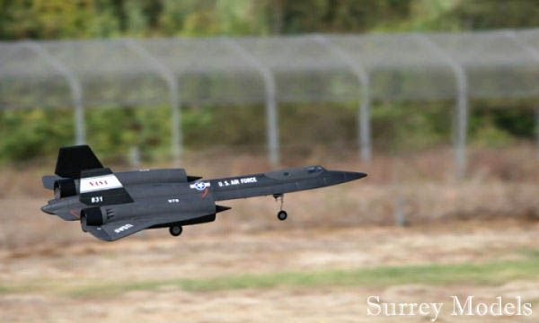 Radio Controlled Large Scale Fighter Jet Plane