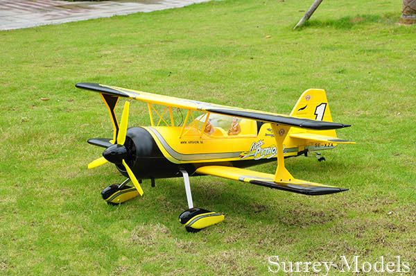 RC Electric Aerobatic Biplane