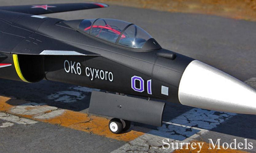 Radio Controlled SU47 Berkut Fighter Jet