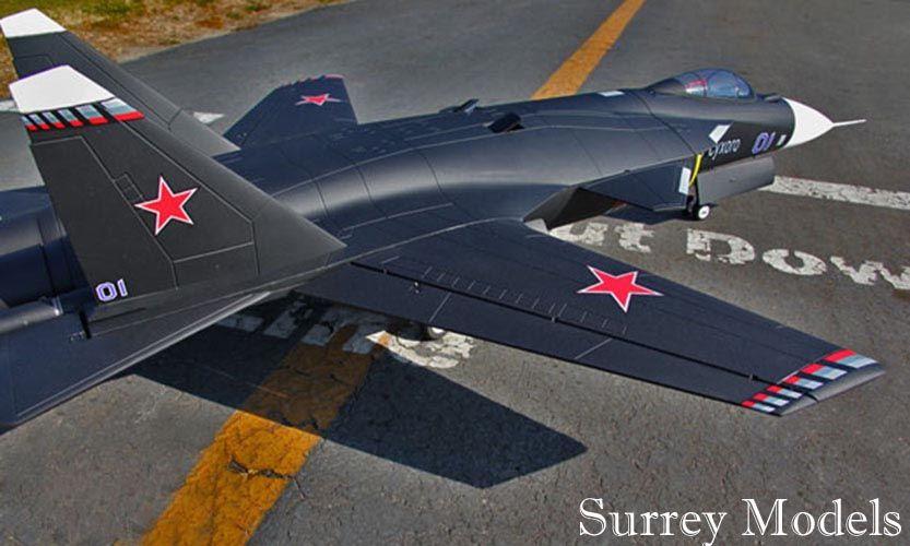 RC Electric EDF LX SU47 Berkut  Fighter Jet